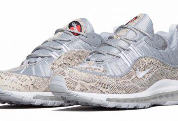"Supreme x Nike Air Max 98 ""Snakeskin"" 844694-100 【シュプリーム×ナイキ エアマックス98】"