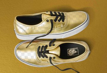 Vans 50th Anniversary Gold Collection