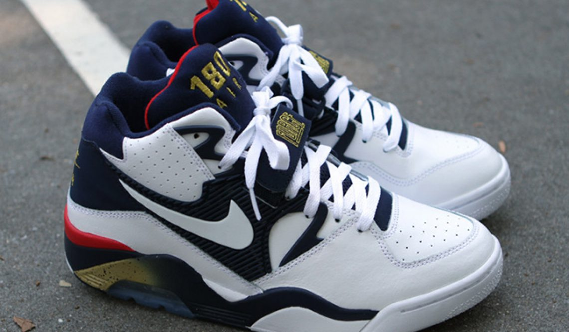 """the latest 641ad 79cc9 MOVIE☆7月7日発売☆ NIKE AIR FORCE 180 """"OLYMPIC""""  ナイキ エアフォース180 – Sneaker Peace"""