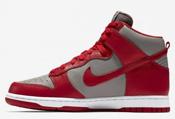 "MOVIE★ 5月14日発売★ Nike Dunk Retro QS ""UNLV"" Soft Grey/University Red  850477-001 【ナイキ ダンク】"
