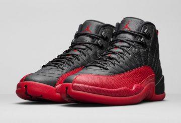 """再販★検索リンク追記★国内5月28日発売★NIKE  Air Jordan 12 """"Flu Game"""" Black/Varsity Red 130690-002 【ナイキ エアジョーダン12 】"""