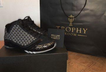 """詳細画像★ 5月28日発売★Air Jordan XX3 """"Trophy Room"""" Black/Black-Metallic Gold-Dark Grey 853336-023"""