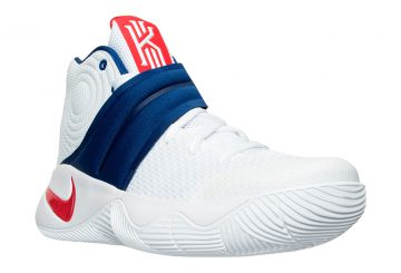 "7月2日発売予定★ Nike Kyrie 2 ""4th of July"" White/University Red-Deep Royal Blue 819583-164 【ナイキ カイリー2】"