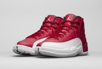 "NEW MOVIE★7月2日発売★NIKE Air Jordan 12 ""Alternate"" Gym Red/White 130690-600 【ナイキ エアジョーダン12 】"