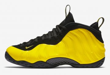 "MOVIE★国内6月24日発売★ NIKE AIR FOAMPOSITE ONE ""YELLOW"" 【ナイキ エアー フォームポジット】"