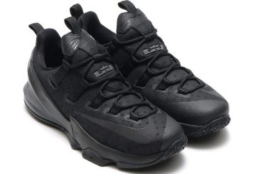 発売中★Nike LeBron 13 Low Black/Reflective Silver-Black-Anthracite 831926-001 【ナイキ レブロン 13 low】