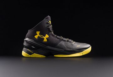 "6月11日発売★ Under Armour Curry 2 ""Black Knight"" Black/Yellow 【アンダーアーマー カリー2】"
