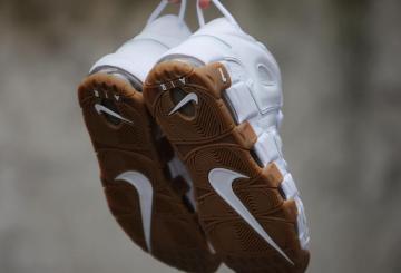 詳細画像★9月3日発売予定★ Nike Air More Uptempo White/White-Gum 414962-103 【ナイキ エア モアアップテンポ 】