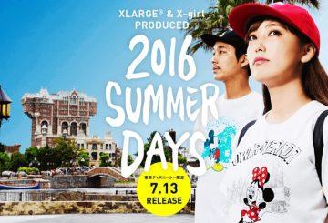 7月13日発売★東京ディズニーシー限定★ XLARGE® & X-girl  2016 SUMMER DAYS COLLECTION 【エクストララージ エックスガール 】