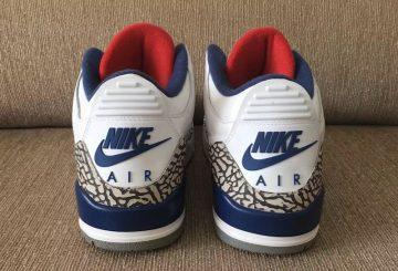 """詳細画像追加★NIKE Air Jordan 3 OG """"True Blue"""" White/Fire Red-True Blue-Cement Grey 854262-106 【ナイキ エアジョーダン3】"""