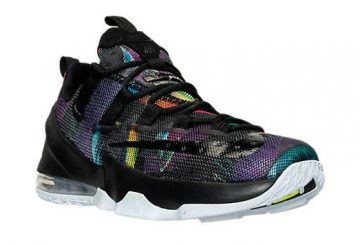 海外発売中★NIKE Lebron XIII Low  Black/Cosmic Purple-White 831925 051 【ナイキ レブロン13 ロー】