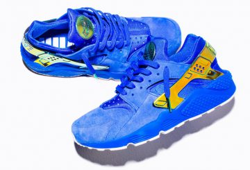 """7月16日発売★ Nike Air Huarache LA """"Blue Suede""""  UNDEFEATED EXCLUSIVE 【ナイキ エア ハラチ アンディーフィーテッド】"""