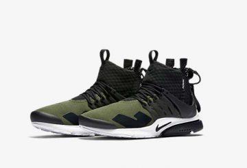 """詳細画像★ ACRONYM x Nike Air Presto """"Olive"""" アクロニウム×ナイキ エアプレスト"""