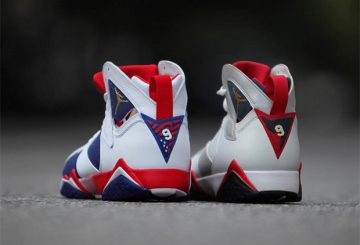 "比較★ORIGINAL AIR JORDAN 7 ""OLYMPIC"" TO THE TINKER'S ""ALTERNATE"" DESIGN"