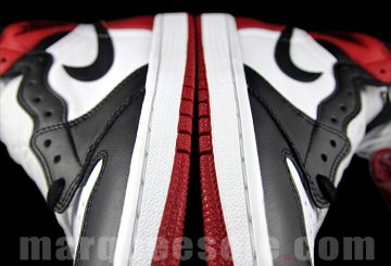 "11月発売予定★ NIKE Air Jordan 1 Retro High OG ""Black Toe"" Black/White-Varsity Red 555088-125  【ナイキ エアジョーダン 1 OG ""black toe""】"
