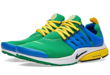 "NIKE AIR PRESTO   Lucky Green/Black-Hyper Cobalt  848187-300 ""Brazilian color"" 【ナイキ エアプレスト】"