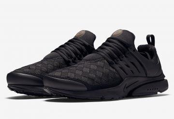 "近日発売予定★ Nike Air Presto WOVEN SE ""Triple Black"" Black/Black-Black 848186-001"