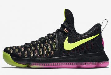 "検索リンク★8月4日発売★ Nike KD 9 ""Unlimited"" Multicolor/Multicolor 843392-999"