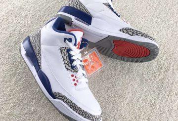"MOVIE★11月25日発売★NIKE Air Jordan 3 OG ""True Blue"" White/True Blue-Varsity Red 854262-106"