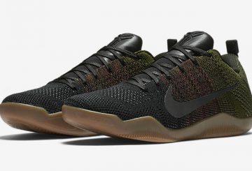 """フライング発売★発売中★9月17日発売★ Nike Kobe 11 """"Black Horse"""" Black/Team Red-Rough Green 824463-063 【ナイキ コービー11】"""