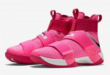 """9月15日発売★Nike LeBron Soldier 10 """"Think Pink"""" Storm Pink/Black-Vivid Pink-Metallic Silver 844375-606 【ナイキ ズーム レブロン 10】"""