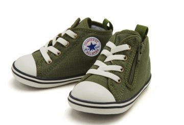 FOR BABY★発売中★CONVERSE BABY ALL STAR N COTTONRIPSTOP  【コンバース ベビー オールスター】