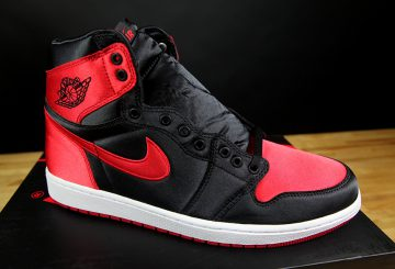 MOVIE追記★501足限定★ NIKE AIR JORDAN 1 RETRO HIGH OG SE  Black/University Red-White Style Code: 917359-001  【ナイキ エアジョーダン1 サテン】