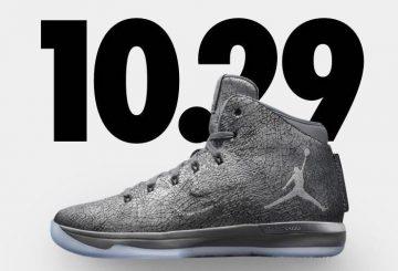 """10月29日発売★ NIKE Air Jordan XXX1 """"Battle Grey"""" 【ナイキ エアジョーダン 31】"""