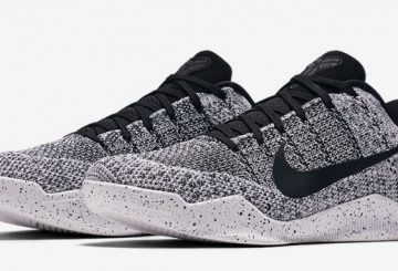 "10月28日発売★ Nike Kobe 10 Elite Low ""Oreo""  White/Black 822675-100"