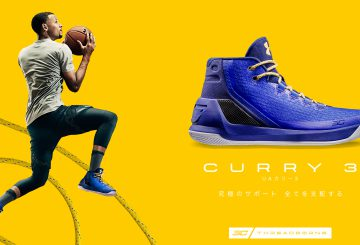 MOVIE★国内10月29日発売★ Under Armour Curry 3 2 colors 【アンダーアーマー カリー3 全2色】