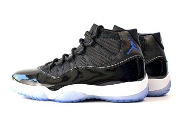 "NEW IMAGES ★ 12月10日発売★ NIKE Air Jordan 11 ""Space Jam"" Black/Dark Concord-White 378037-003"