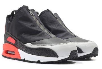 """リーク★ Nike Air Max 90 Utility """"Infrared"""" Black/Cool Grey-Neutral Grey 858956-002 【ナイキ エアマックス 90 ユーティリティー】"""