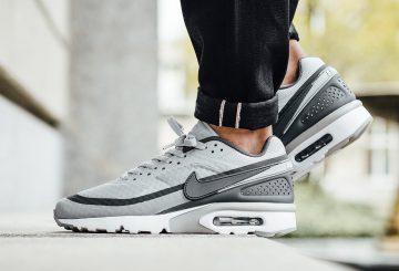 海外展開中★ Nike Air Max BW Ultra Wolf Grey/Dark Grey-White 819475-002 【ナイキ エアマックス BW ウルトラ】