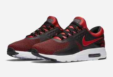 "海外展開中★ Nike Air Max Zero ""Bred"" University Red/University Red 876070-600 【ナイキ エアマックス ゼロ ""BRED""】"