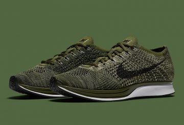 12月9日発売★NIKE FLYKNIT RACER  Rough Green/Black-Neutral Olive-Sequoia  862713-300  【ナイキ フライニット レーサー】