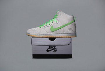 """検索リンク追記★10月29日発売★ Nike SB Dunk High """"Silver Box"""" Metallic Silver/Hyper Verde-Gum Yellow 313171-039 【ナイキ ダンク SB】"""