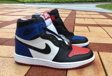 "NWE IMAGES★11月28日発売★ NIKE Air Jordan 1 Retro High OG ""Top 3"" Black/Varsity Red-Varsity Royal 555088-026 【ナイキ エアジョーダン1】"