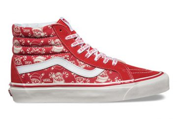 "11月11日発売★ユニセックス★VANS SK8-HI38 REISSUE &OLD SKOOL36 50th ANNIVERSARY HOLIDAY PACK ""PIRATES SANTA"""