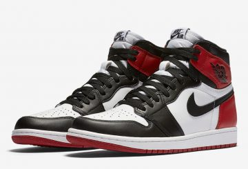 "検索リンク追記★MOVIE★NIKE Air Jordan 1 Retro High OG ""Black Toe"" White/Black-Varsity Red 555088-125 【ナイキ エアジョーダン1 】"