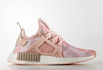 "11月25日発売★adidas NMD_XR1 ""Pink Camo"" Vapour Grey/Ice Purple-Off White BA7753 【アディダス NMD XR1】"