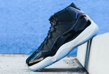"NEW IMAGES★12月10日発売★ NIKE Air Jordan 11 ""Space Jam"" Black/Dark Concord-White 378037-003【ナイキ エアジョーダン 11】"