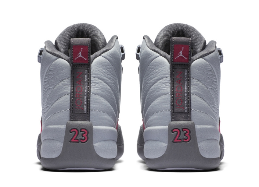 brand new 47c0f 95bef ... order air jordan 12 gs wolf grey vivid pink a7fac 12934
