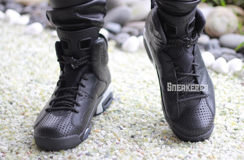 black-cat-air-jordan-6-on-feet
