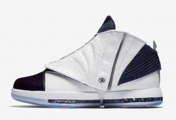 """12月22日発売★NIKE Air Jordan 16 """"Midnight Navy""""   White/White-Midnight Navy 683075-106 【ナイキ エアジョーダン16】"""