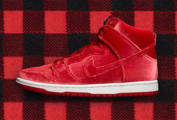 "検索リンク追記★11月11日発売★Nike SB Dunk High Premium ""Red Velvet"" Gym Red/White-Gym Red 313171-661"