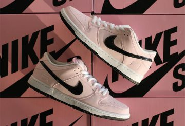"11月25日発売★Nike SB Dunk Low ""Pink Box"" Prism Pink/Black-White 833474-601 【ナイキ ダンク SB LOW】"