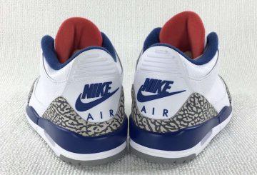 """リストック★検索リンク追記★MOVIE★11月25日発売★NIKE Air Jordan 3 """"True Blue"""" White/Fire Red-True Blue 854262-106  【ナイキ エアジョーダン3 OG】"""
