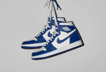 "MOVIE★12月23日発売★NIKE Air Jordan 1 Retro High OG ""Storm Blue"" White/Storm Blue 555088-127 【ナイキ エアジョーダン1】"