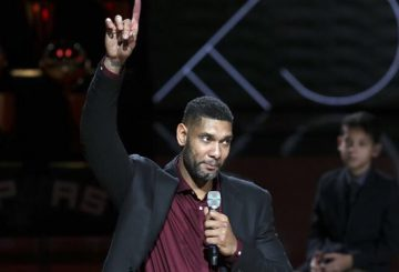 Tim Duncan's San Antonio Spurs Jersey Retirement 【ティム・ダンカン 永久欠番セレモニー】