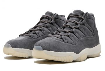 12月23日発売★ NIKE Air Jordan 11 Retro Premium Cool Grey/Sail 914433-003 December 23, 2016